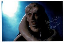 Michael Carter Autograph Signed Photo - Bib Fortuna